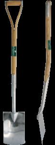 Ergonomic Digging Spade